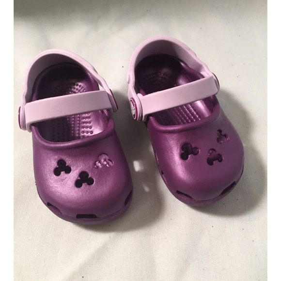 CROCS Shoes | Nwot Infant Girls Purple